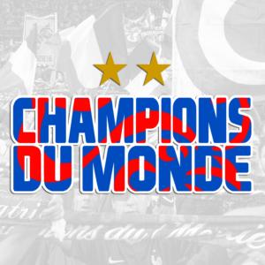 Produits CHAMPIONS DU MONDE